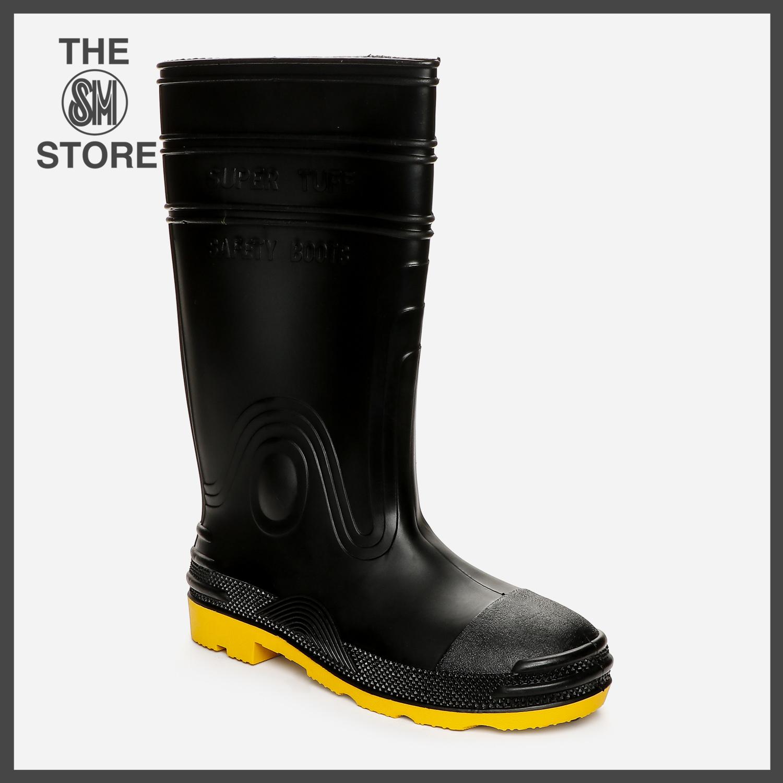 Supertuff Mens' Steel Toe Rubber Boots